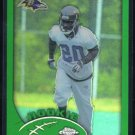 2002 Topps Chrome #208 ED REED SP RC, Future HOFer