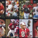 San Francisco 49ers STEVE YOUNG Card Lot with Inserts