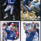 Bills-Patriots DREW BLEDSOE Football Promo Card Lot