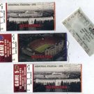 2007 Nebraska Cornhuskers Football Ticket Stub Lot (4)