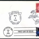 1989 Scopex Cover w/C44 + 2006 Air Mail C141 FDC Combo