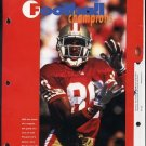 49ers Jerry Rice Notebook Dividers, 3 Different, Rare
