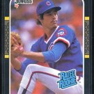 1987 Donruss #36 GREG MADDUX Rookie Card RC Cubs Braves