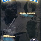 2006 Milwaukee Brewers GameDay Program Hank Aaron Cover