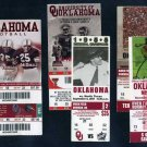Oklahoma Sooners Football Ticket Lot, Adrian Peterson