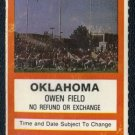 1986 Oklahoma vs Oklahoma State Ticket, Barry Sanders+