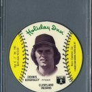 1977 Holiday Inn Discs DENNIS ECKERSLEY PSA 10 Indians
