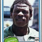 1981 Topps #261 RICKEY HENDERSON Card NM Oakland A's