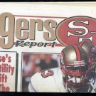 49ers Report Magazine with Derrick Deese on Cover