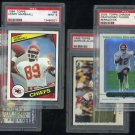 Kansas City Chiefs PSA Graded Card Lot, Allen, RC's+