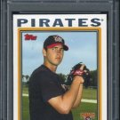2004 Topps #325 ZACH DUKE RC PSA 10 Pirates