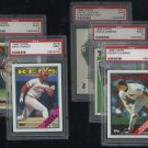 1988 Topps Baseball PSA Graded Lot; Clemens, Parker+