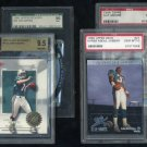 Miami Dolphins PSA/BGS/SGC Graded Card Lot, Marino+