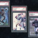 Bengals AKILI SMITH PSA Graded RC Lot w/2000 CE PSA 10