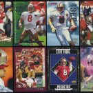 San Francisco 49ers STEVE YOUNG Card Lot with Inserts,