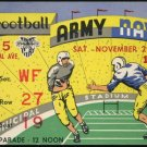 1958 Army vs Navy Ticket, Heisman Pete Dawkins