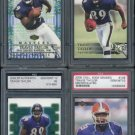 Ravens 2000 TRAVIS TAYLOR RC PSA 10 Graded Lot+