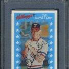 1982 Kellogg's #33 BUDDY BELL 3-D Card PSA 10 Yankees