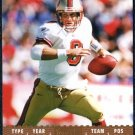 2007 Topps Exclusive STEVE YOUNG Card #'d 021/149 49ers