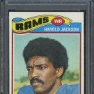 1977 Topps #445 Harold Jackson Card PSA 9 Rams WR