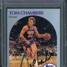 1990 Hoops #234 TOM CHAMBERS Signed Card PSA/DNA Suns