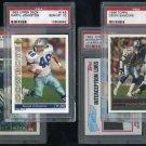 Dallas Cowboys PSA Graded Card Lot, Smith, Deion+
