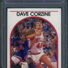1989 Hoops #93 DAVE CORZINE Card PSA 10 Chicago Bulls