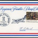 1978 Benjamin Franklin Club Card w/KS Postmaster Sig.