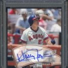 2005 UD Past Time Pennants WALLY JOYNER Auto PSA 10