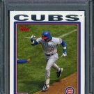 2004 Topps #368 SAMMY SOSA Card PSA 9 Chicago Cubs