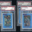1982 Kellogg's Baseball Card PSA 9 Graded Lot (4)