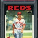 1986 Topps Tiffany #54 JOHN FRANCO Card PSA 10 Reds