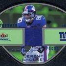 2003 Fleer Focus JEREMY SHOCKEY GU Jersey Card #/10