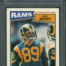 1987 Topps #148 RON BROWN PSA 10 LA Rams