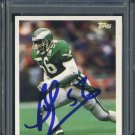 1993 Topps #325 BYRON EVANS Auto Card PSA/DNA Jets