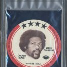 1976 Buckmans Discs WALLY CHAMBERS PSA 10 Chicago Bears