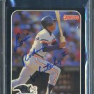 1987 Donruss All-Stars LOU WHITAKER Auto Card PSA/DNA