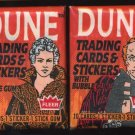 1984 Dune (Movie) Non-Sport Unopened Pack Lot (2)