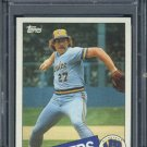 1985 Topps #471 Pete Ladd Card PSA 10 Brewers