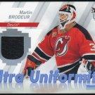2007 Ultra MARTIN BRODEUR GU Jersey Card, Devils