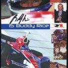 Indy Racer BUDDY RICE Auto 5x7 PSA DNA COA