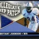 2003 Topps DP&P BRYANT JOHNSON Jersey GU RC 65/75