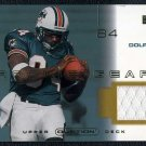 2001 UD Ovation CHRIS CHAMBERS GU Jersey RC Dolphins