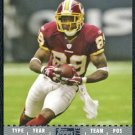 2007 Topps Exclusive SANTANA MOSS Card 42/49 Redskins