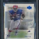 2001 UD Graded #64 TRAVIS HENRY RC BGS 9.5 Bills