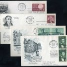 1959 US Stamp First Day Cover Lot (Lincoln, Oregon FDC+