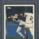 1994 Topps #593 Omar Vizquel Card PSA 10 Mariners