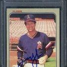 1983 Fleer #95 TOMMY JOHN Signed Card PSA/DNA Angels