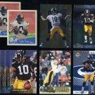 Steelers KORDELL STEWART Lot w/BGS Donruss Graded Card