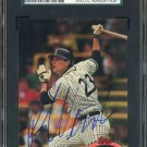 1991 Stadium Club ROBIN VENTURA Signed Card JSA, Auto
